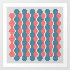 Midcentury Pattern 05 Art Print
