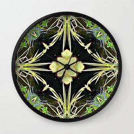 Diamond Centered Patience Wall Clock