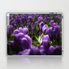 purple spring Laptop & iPad Skin