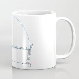 Coffee (lineart) Coffee Mug