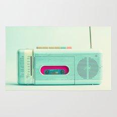 Radio Days  Rug