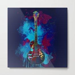 Sounds of music. Guitar. Metal Print