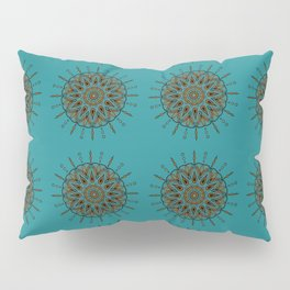 Himalayan Candy Green- Mini Mandala Pattern Pillow Sham