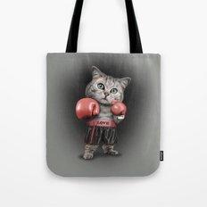 BOXING CAT Tote Bag