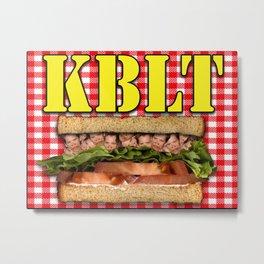 KBLT Metal Print
