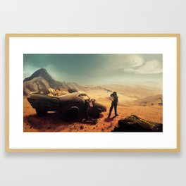 Fury and Blood Framed Art Print