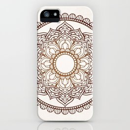 Mandala Vintage Background iPhone Case