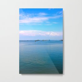 The sea and the sky Metal Print