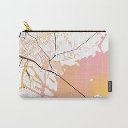 Venice Italy Street Map Color Carry-All Pouch