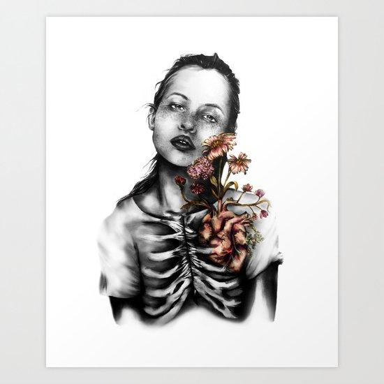 Heartbeats // Illustration Art Print