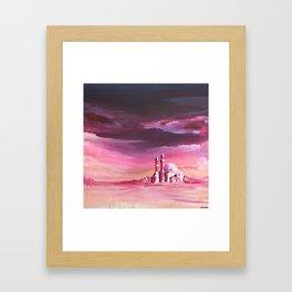 Dreamy Mosque Framed Art Print