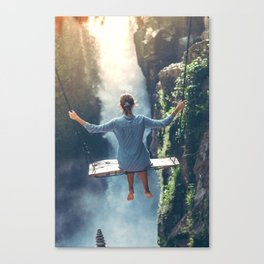 She Believes (Color) Canvas Print