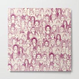 WOMEN OF THE WORLD CHERRY Metal Print