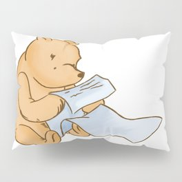 Pooh Reading Pillow Sham