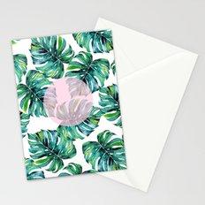 Monstera Pattern V1 #society6 #decor #buyart Stationery Cards