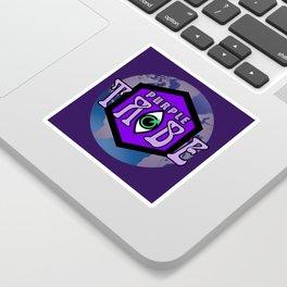 Purple Tribe1 Sticker
