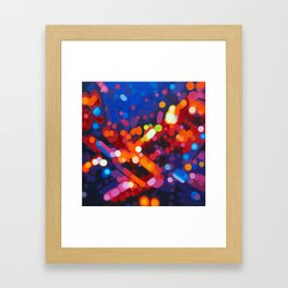 Abstract painting - Carl Soete Framed Art Print