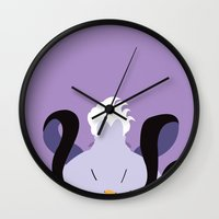 ursula Wall Clocks featuring Ursula by Polvo