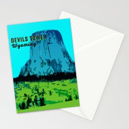Devils Tower Wyoming Stationery Cards
