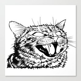I want it meow! Canvas Print