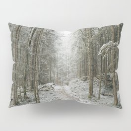 For now I am Winter - Landscape photography Pillow Sham