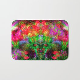 The Flower King Bath Mat