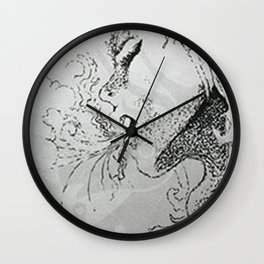 Breath Wall Clock