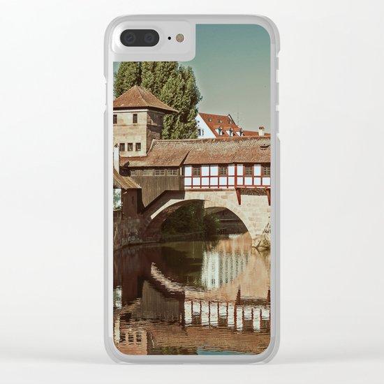 Romantic Nuremberg Clear iPhone Case