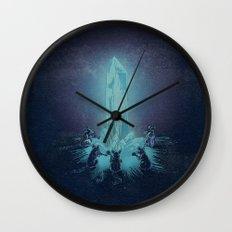 Crystal Mice Band Wall Clock