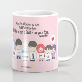 Mum You're The Number One for Me Coffee Mug