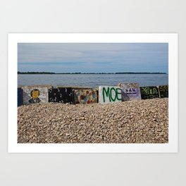Put-in Bay Shoreline I Art Print