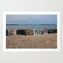 Put-in Bay Shoreline I Art Print