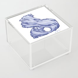 The Letter D is Dope!  Acrylic Box