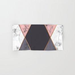Marble Geometry 018 Hand & Bath Towel