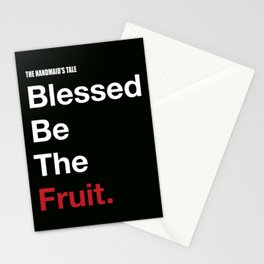 Blessed Be The Fruits Stationery Cards
