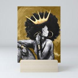 Naturally Queen VI GOLD Mini Art Print