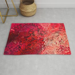The Textures Of Mars Rug