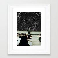 study Framed Art Prints featuring study by Ashley Moye