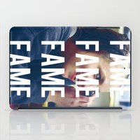 britney spears iPad Cases featuring FAME - BRITNEY SPEARS by Beauty Killer Art