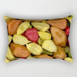 Hot Peppers Rectangular Pillow