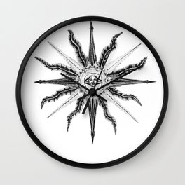 Face the Sun Wall Clock