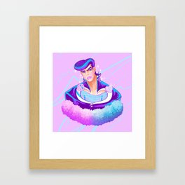 Trans Josuke - Textless Framed Art Print