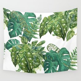 A Pattern of Plants Wall Tapestry