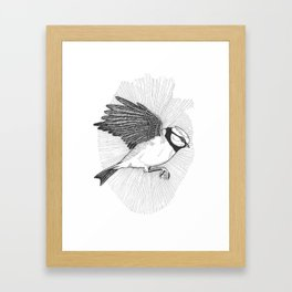 Bluebird In My Heart Framed Art Print