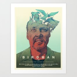 Birdman - Alternative Poster Art Print