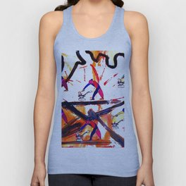 VERDI: The Anvil Chorus      by Kay Lipton Unisex Tank Top
