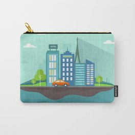 Island city Carry-All Pouch