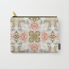 Vintage Floral Two Carry-All Pouch
