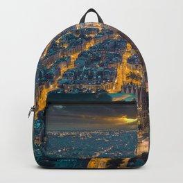 Sunset in Barcelona Backpack