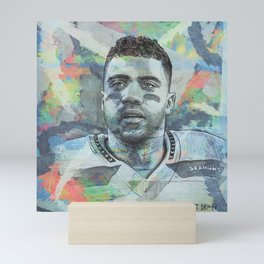 Russell Wilson - #3 Mini Art Print